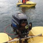 ボートのエンジン