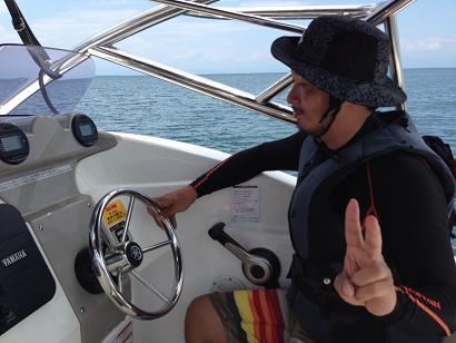 ボート運転