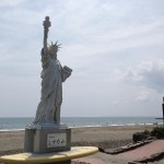静波海岸 女神像