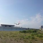 竜馬空港と飛行機