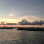 パナリ島の夕日