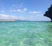 パナリ島でシュノーケリング
