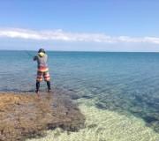 パナリ島で釣り