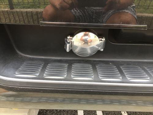 ハイエースLPガスハイブリッド充填口キャップ
