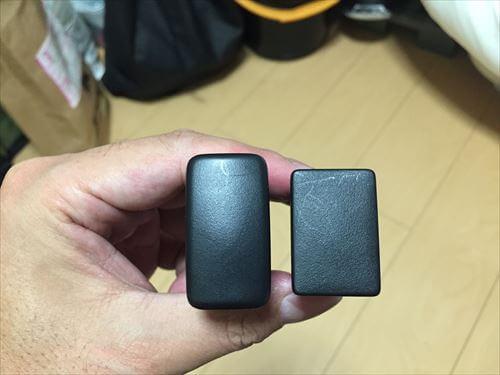 トヨタの新旧空きスイッチパネル
