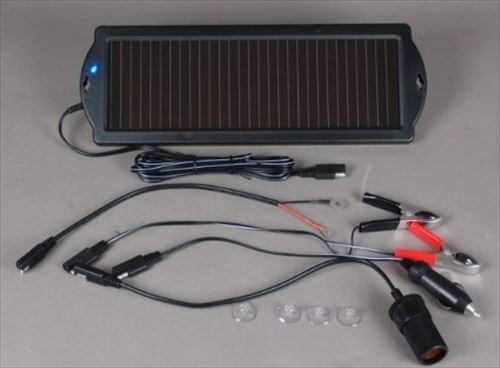 バモスに使っていたソーラー充電器