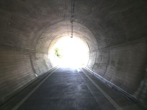 丸山トンネル内
