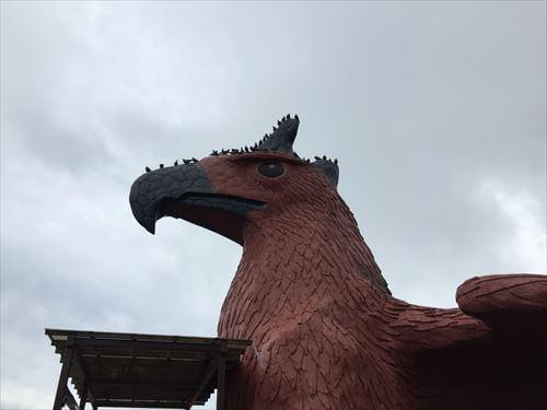 伊豆シャボテン公園の鷲の建物