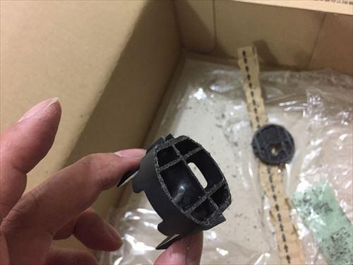 ハイエースのプッシュスタートボタンメクラ蓋加工