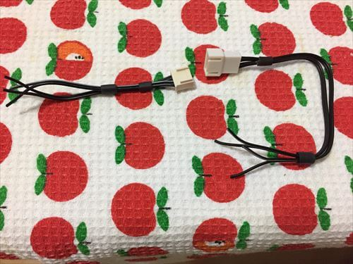 4極コネクター配線加工