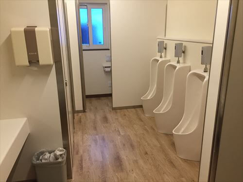 ロッジ・コロポックルのトイレ