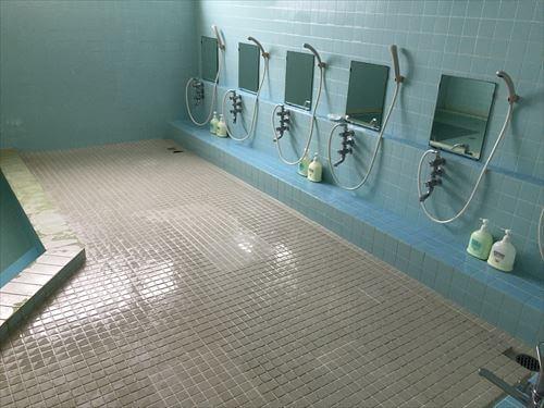 ロッジ・コロポックルの大浴場