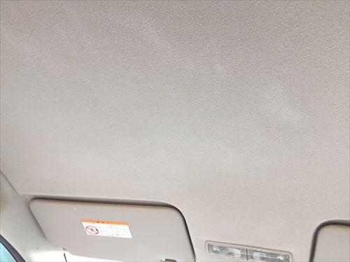 ホンダ・ライフ-クリーニング後の天井