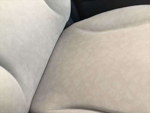 ホンダ・ライフ-クリーニング後のシート