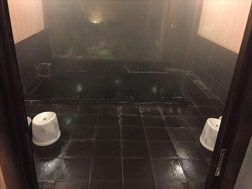 宇佐美(伊東市)の日帰り温泉民宿ふかべ-浴室