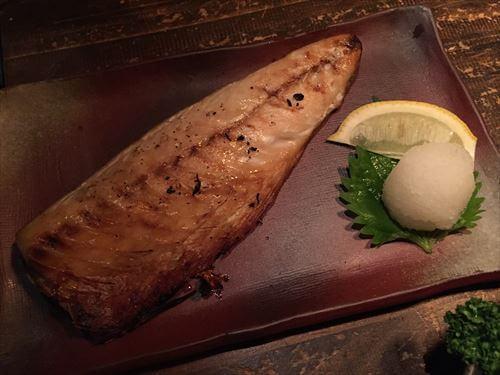 楽味家まるげんの焼き魚