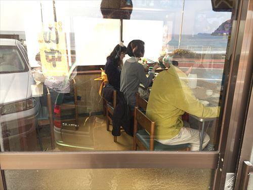 宇佐美のふしみ食堂店内
