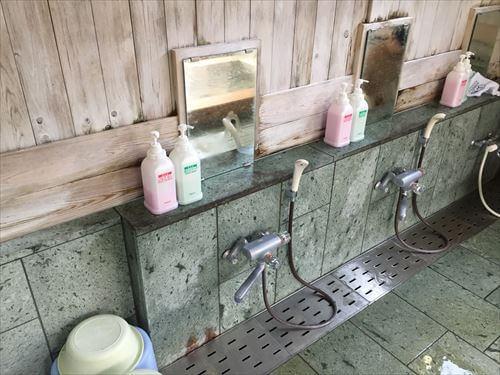リゾートセンターみのりの檜風呂