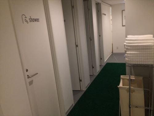 アスティル道頓堀のシャワールーム