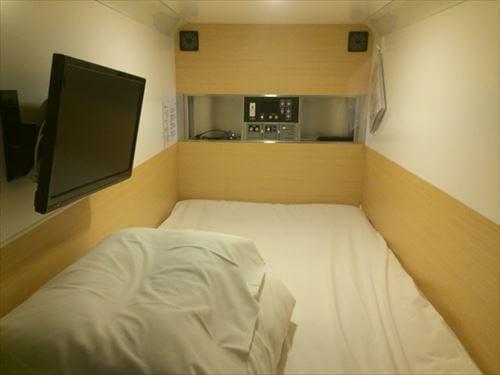 アスティル道頓堀の寝室
