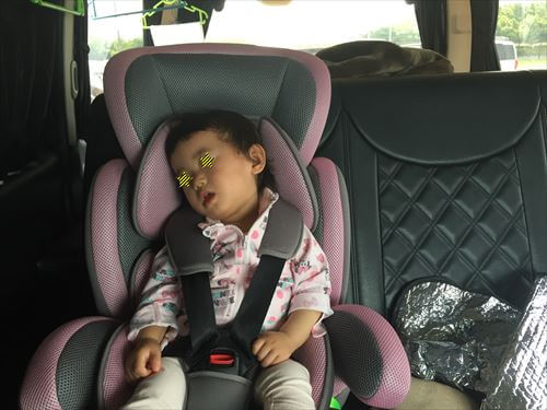 子供ちゃん寝る