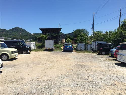 大山牧場うしおじさんの駐車場