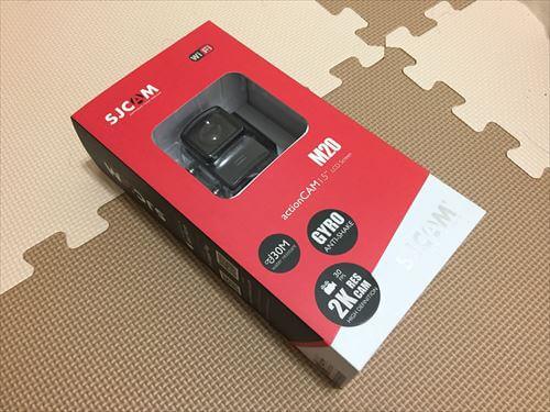 SJCAM-M20パッケージ