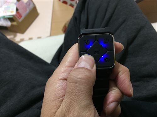 SJCAM-M20用の腕時計型リモコン