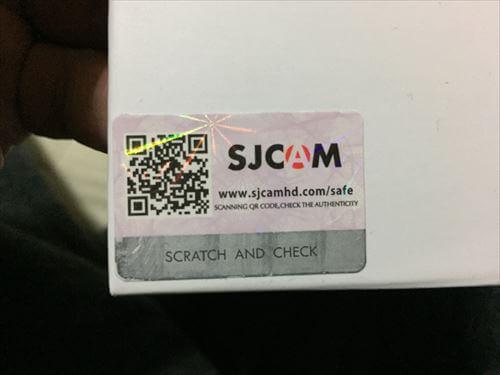 SJCAM-M20用のセキュリティコード