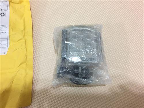 アリエクスプレスで買ったSJCAM-M20の防水ハウジングの梱包