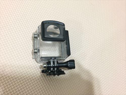 アリエクスプレスで買ったSJCAM-M20の防水ハウジング