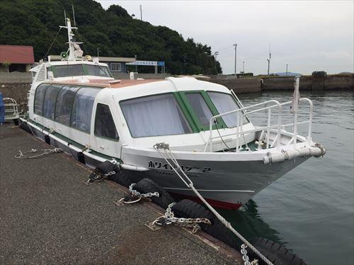 さぬき広島の高速艇