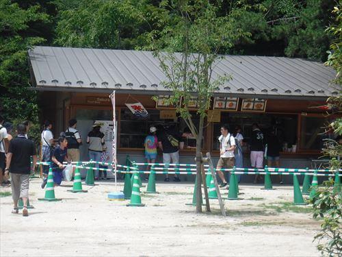 清水公園フィールドアスレチック内飲食店