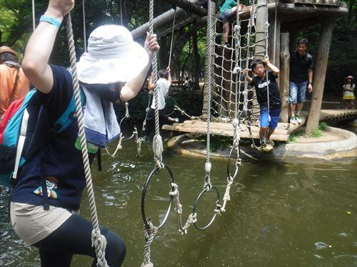 清水公園フィールドアスレチック-チャレンジコース