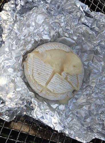 チーズのホイル焼き