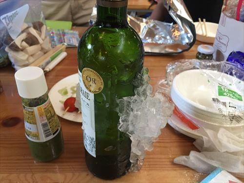 キンキンのワイン