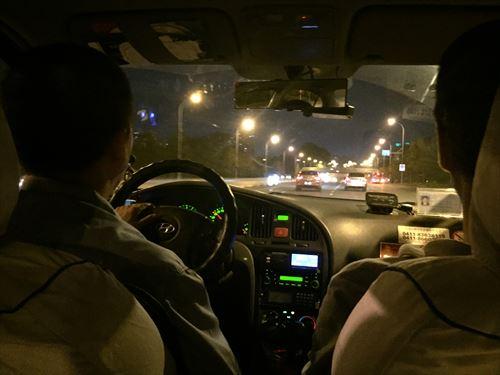 大連のタクシー