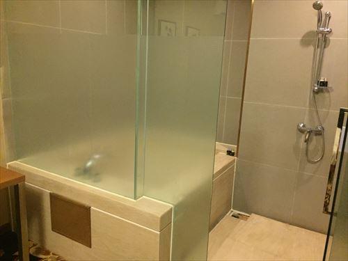 大連のホテルの風呂