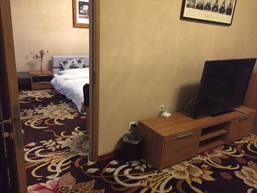 大連のホテルの部屋