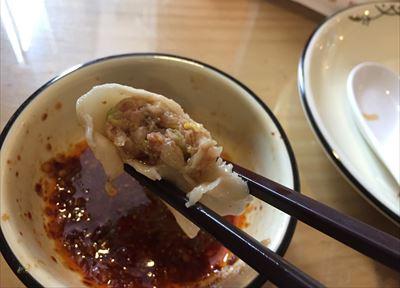 大連(中国)の餃子屋の餃子