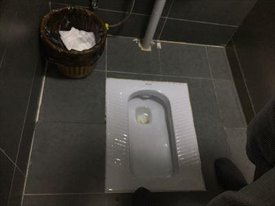 大連(中国)のトイレ
