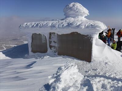 ニセコ・ピークの山小屋