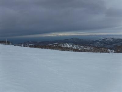 札幌国際スキー場のハイクアップコースからの景色