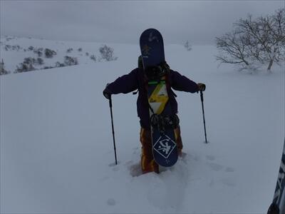 ニセコや札幌国際スキー場のハイクアップコースの装備