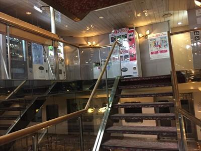 ジャンボフェリー船内-高松・神戸