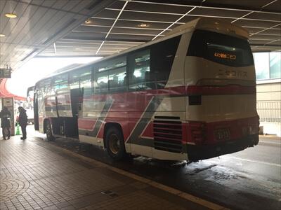 中央バス-新千歳空港からニセコ行き