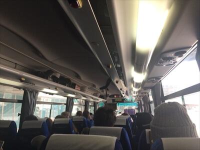 中央バス-車内