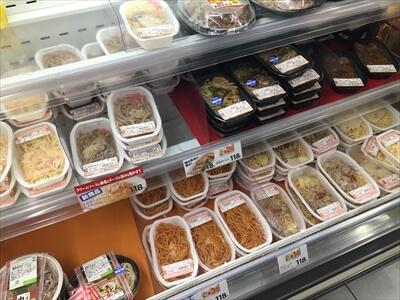 ニセコ・ヒラフのセイコーマートの110円激安麺類シリーズ
