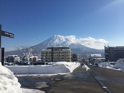 ニセコ・ヒラフから見た羊蹄山