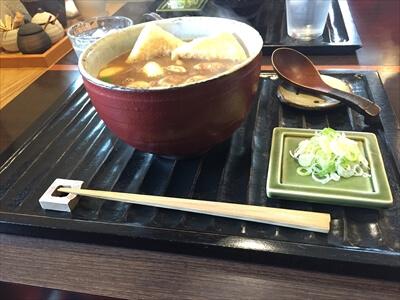 札幌の蕎麦屋『此花』の『カレー南蛮そば』
